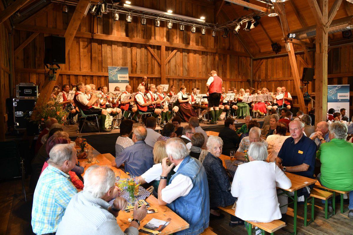 Frühschoppen mit der Blasmusikkapelle der Energie AG   8. Juli 2018